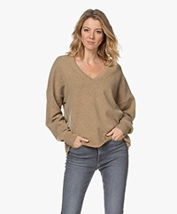 extreme cashmere N°161 Clac Cashmere Sweater - Harris