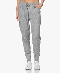 Calvin Klein Rib Knitted Sweatpants - Grey Heather
