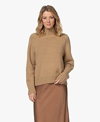 Closed Baby Alpaca Blend Turtleneck Sweater - Honey