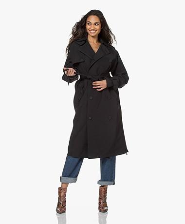 Maium Rainwear Waterproof 2-in-1 Trenchcoat - Zwart