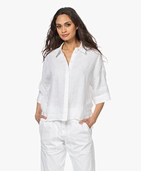 Drykorn Therry Linnen Blouse - Wit