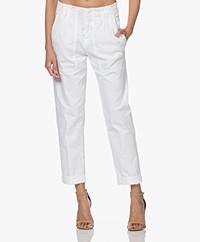 Drykorn Depart Cotton Cargo Pants - White