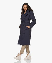 Maium Rainwear Waterproof 2-in-1 Trenchcoat - Navy