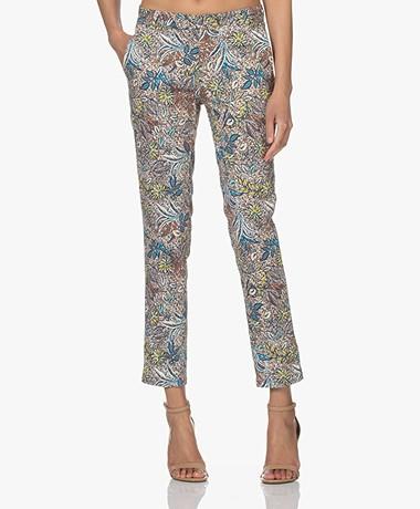 MKT Studio Papias Cotton Printed Pants - Multi-color