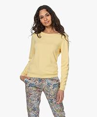 Resort Finest Forte Round Neck Pullover - Yellow