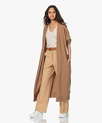Woman by Earn Heike Lang Cashmeremix Vest - Camel