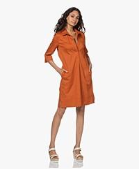 LaSalle Cotton Shirt Dress - Sedona