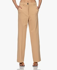 By Malene Birger Lucie Viscosemix Pantalon - Tan