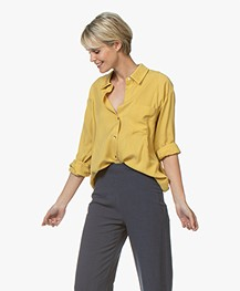 Repeat Tencel Twill Blouse - Mais