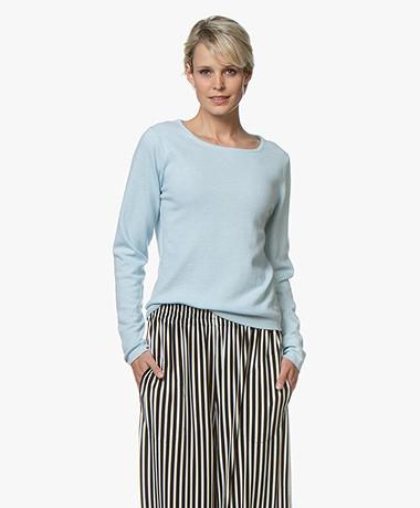 Resort Finest Forte Round Neck Pullover - Blauw