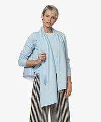 Resort Finest Amico Cashmere Blend Scarf - Blauw