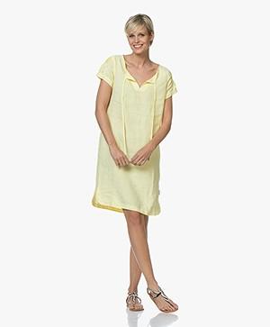 Josephine & Co Carly Linen Tunic Dress - Yellow