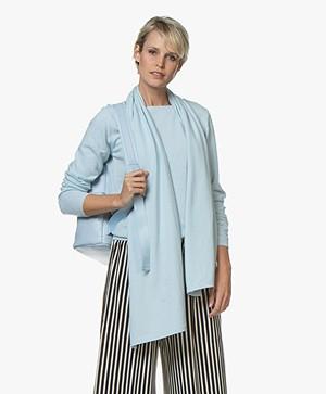 Resort Finest Amico Cashmeremix Sjaal - Blauw