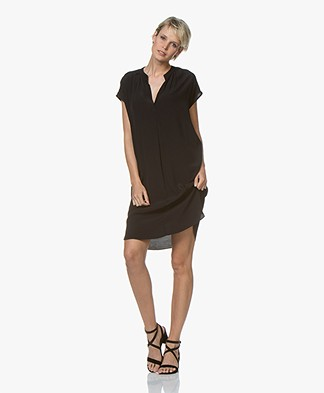 BY-BAR Victoria Crepe Dress - Black