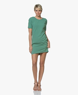 Denham Compass  Low Back Sweater Dress - Frosty Spruce