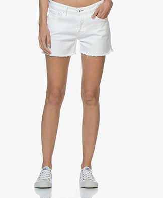 Denham Monroe Denim Short - Wit