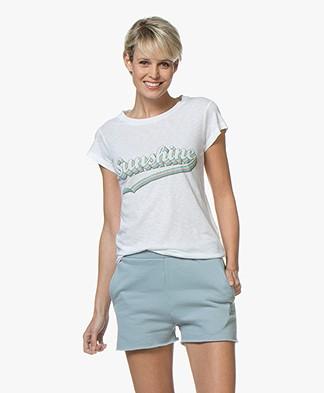 Zadig & Voltaire Skinny Sunshine Print T-shirt - White