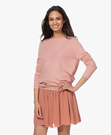 Filippa K Ines Mohair Sweater - Antique Rose