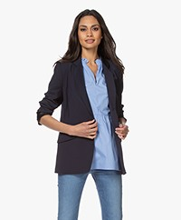 By Malene Birger Wolmix Blazer - Night Sky