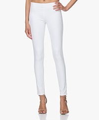 Joseph Gabardine Stretch Legging - Wit