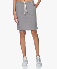 American Vintage Eliotim French Terry Skirt - Heather Grey