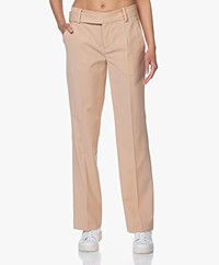 Drykorn Count Straight Wool Blend Pants - Powder Pink