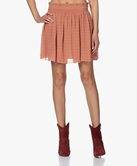 Vanessa Bruno Cugy Viscose Chiffon Skirt - Blush