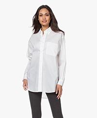 American Vintage Krimcity Oversized Shirt - White