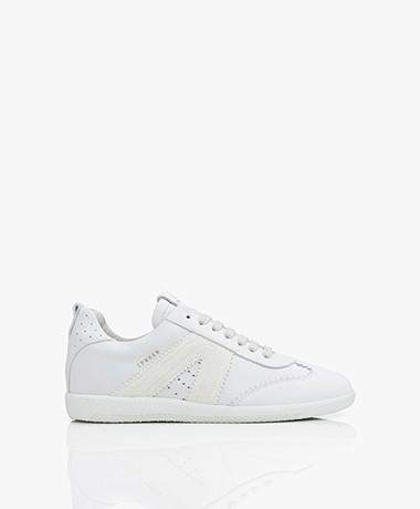Copenhagen Studios Suède Sneakers - Wit