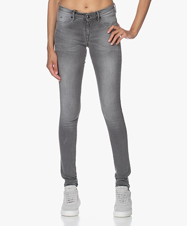 Denham Spray Super Tight Fit Jeans - Middengrijs