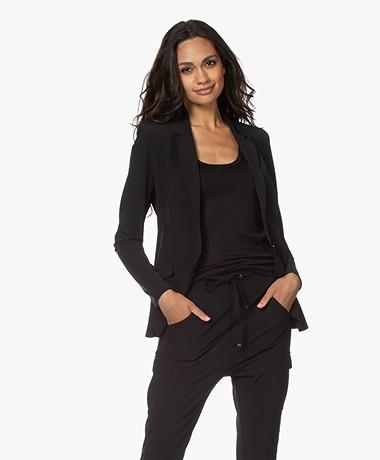 JapanTKY Danno Travel Jersey Blazer - Zwart