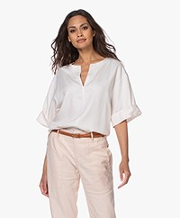 Filippa K Flora Lyocell Blouse - Faded Pink
