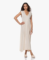 indi & cold Fine Knit Maxi Dress - Tapioca