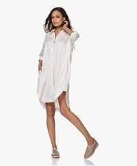 Filippa K Viv Lyocell Shirt Dress - Faded Pink