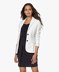 Woman by Earn Odette Getailleerde Blazer - Off-white