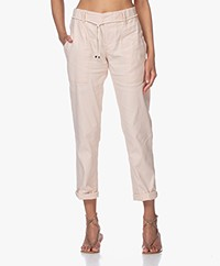 Drykorn Bad Linen Blend Utility Pants - Powder Pink