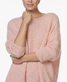American Vintage Boolder Oversized Pullover - Camellia