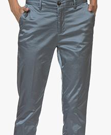 Closed Jack Satin Pants - Polar Blue