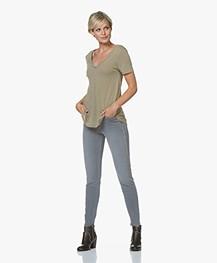 Drykorn Wet Skinny Jeans - Grey