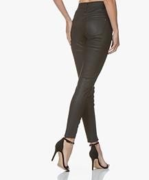 Drykorn Wet Coated Skinny Jeans - Black