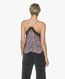 Zadig & Voltaire Christy Leopard Printed Camisole - Ecru