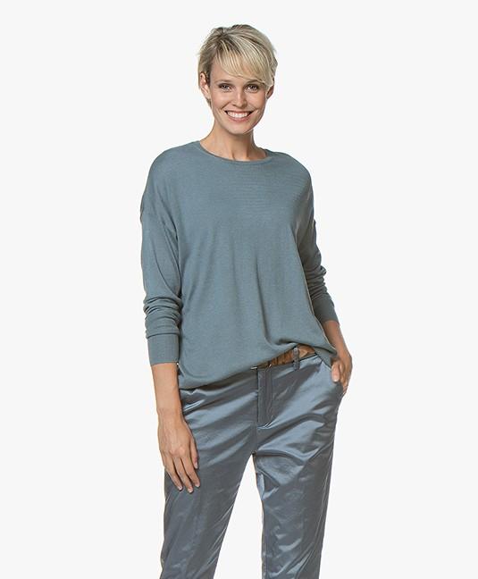 Filippa K Silky Fine Knit Sweater - River