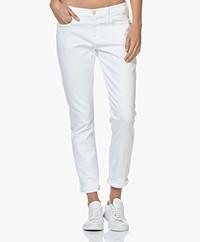 FRAME Le Garcon Jeans - White