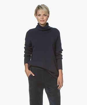 American Vintage Dasmville Turtleneck Sweater - Night