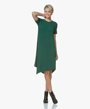 Majestic Filatures Soft Touch Jersey Dress - Forest