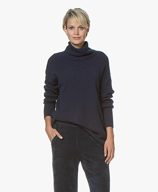 American Vintage Dasmville Turtleneck Sweater - Night