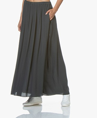 BY-BAR Linde Crepe Maxi Skirt - Vintage Green
