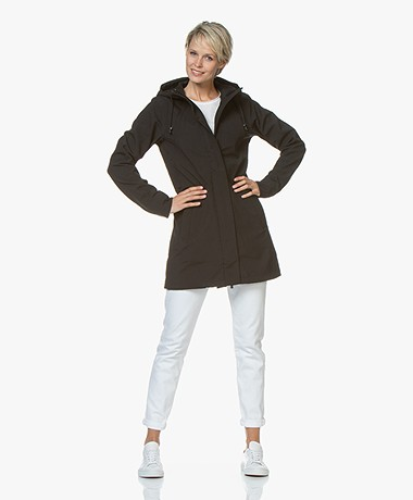 14f7267e676d Ilse Jacobsen Softshell Raincoat Rain50 - Black - Ilse Jacobsen