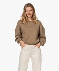 American Vintage Ikatown Cotton Blend Sweatshirt - Herisson