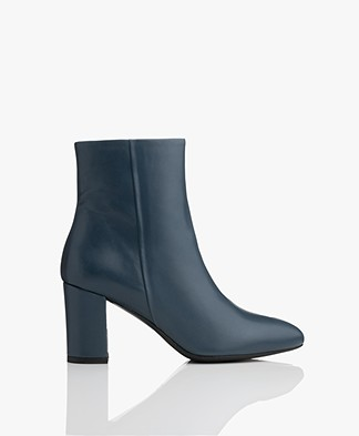 Filippa K Miranda High Bootie - Blue Slate